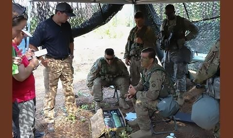 Saros Battlefield Oxygen Concentrator tested during Operation Panther Shield